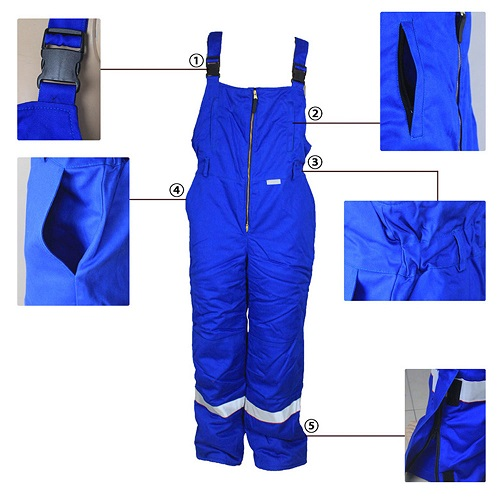 cotton arc protection overalls