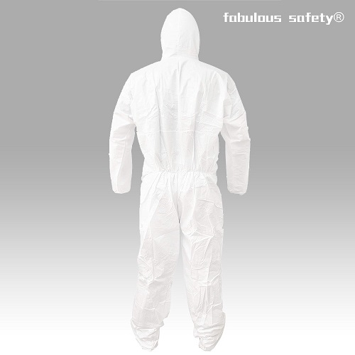 Disposable Coverall Medical Isolation Clothing back